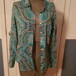 J.Crew button down blouse
